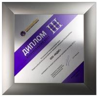 Диплом за лучшие 2012